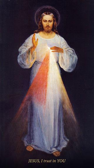 Divine Mercy by Eugeniusz Kazimirowski