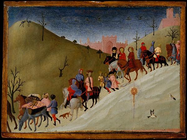 journey of the magi sassetta